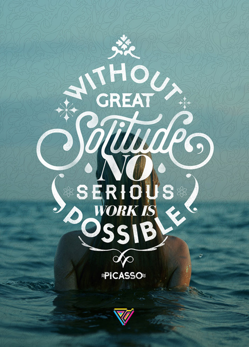 Typography Posters: 30 Motivational and Inspiring Quotes - 23