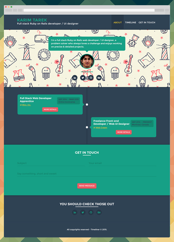 50 Best Free PSD Files for Designers - 14