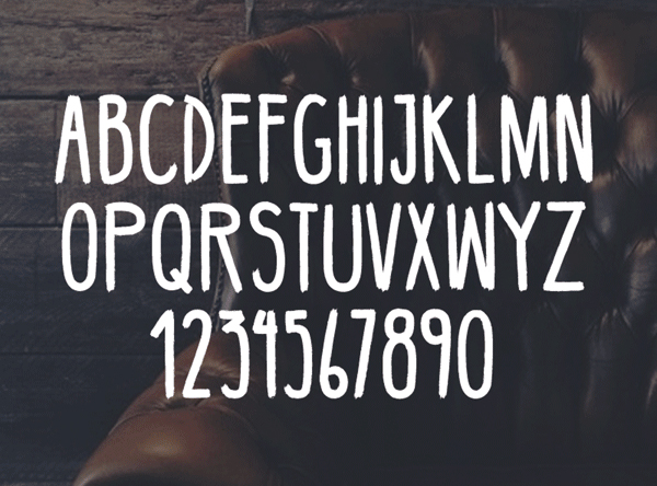 40 Free Hipster fonts - 25