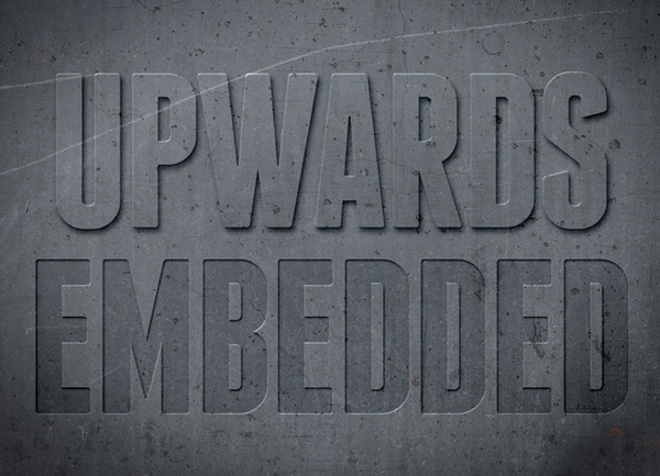 How to Create Letterpress Text Effects in Photoshop