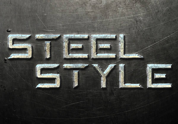 How to Create a Steel Text Effect in Photoshop