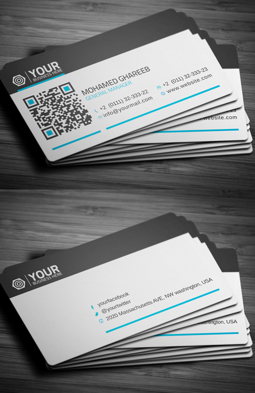 Business Cards Design: 50+ Amazing Examples to Inspire You - 4