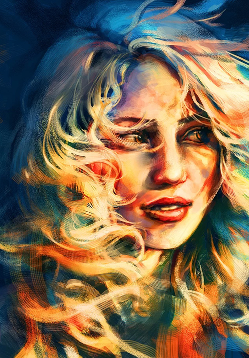 Awesome Digital Illustrations by Alice X. Zhang