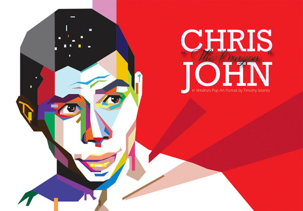 Chris John in WPAP by TheMbamoeVectory