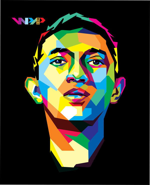 Self Portrait In WPAP by ihsanulhakim
