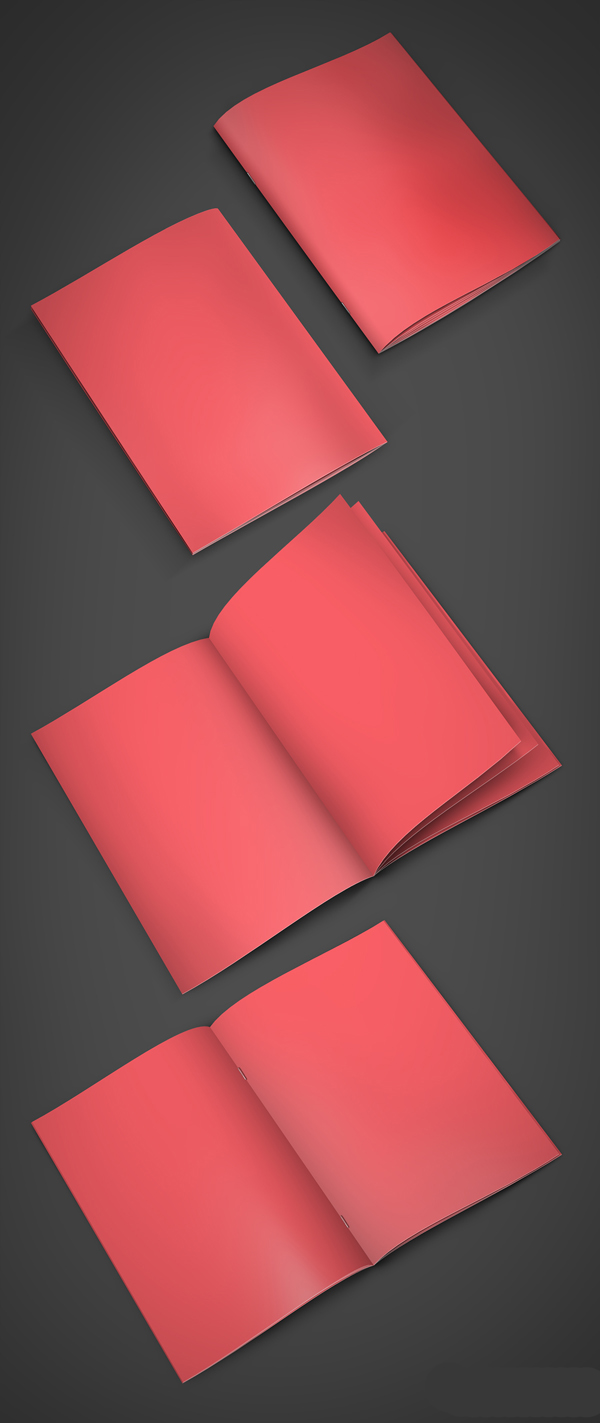 Free A4 Booklet Mockup