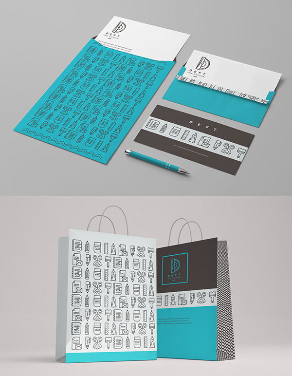 Deft Stationery Items
