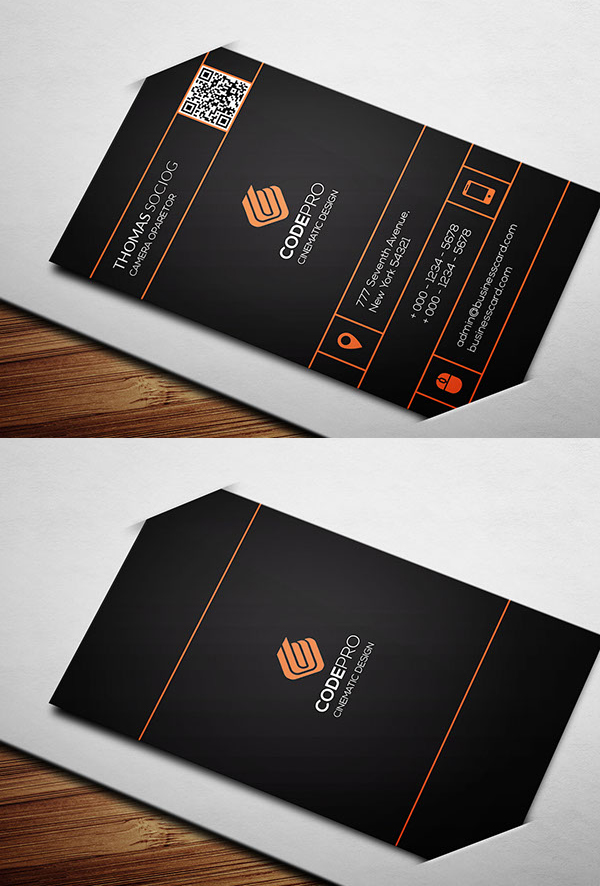 Simply Business Card PSD Template