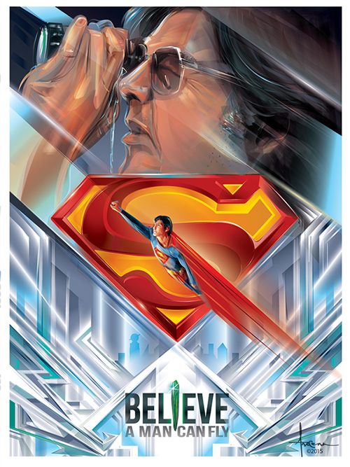 Believe a Man Can Fly by Orlando Arocena