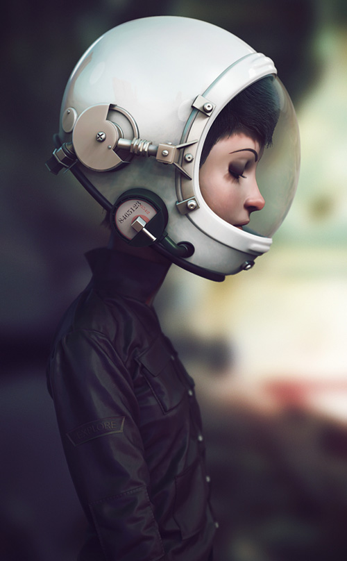 Space Cadet by Marco Nogueira