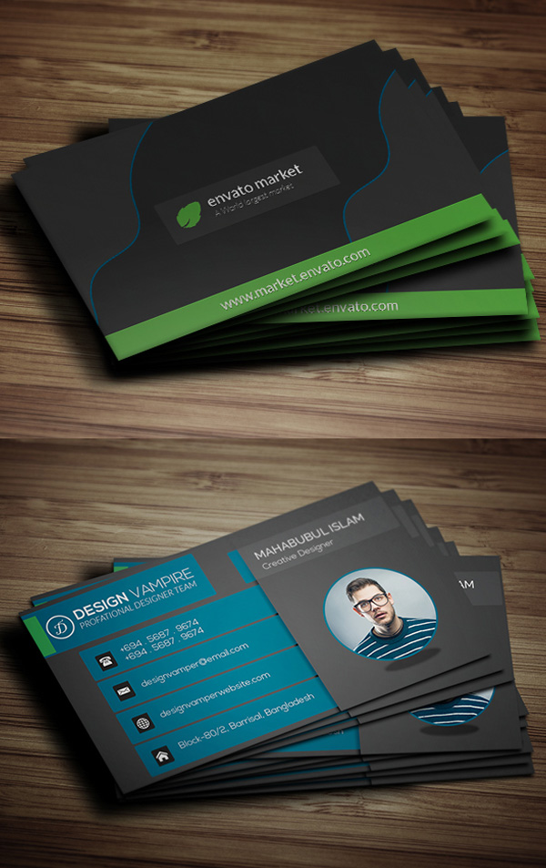 Creative Business Card Template ( Free Download)