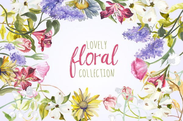The Lovely Floral Collection