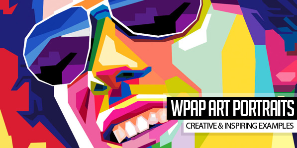 25 Creative WPAP Art Portraits & Tutorials
