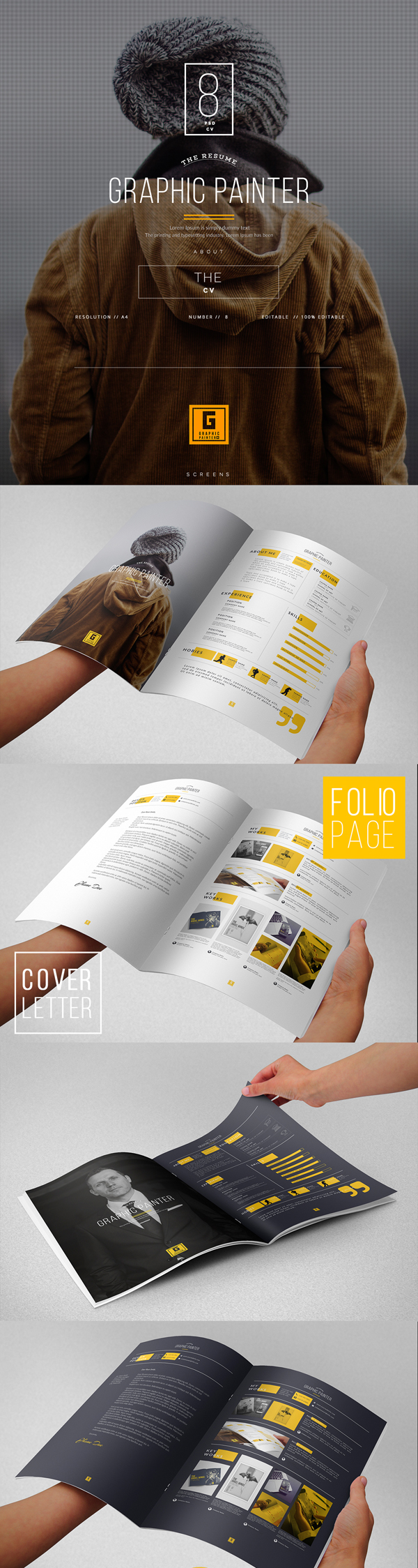 50 Best Free PSD Files for Designers - 1