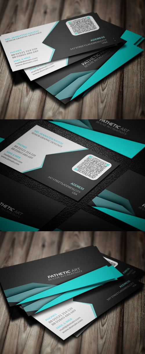Corporate Creative Business Card Template