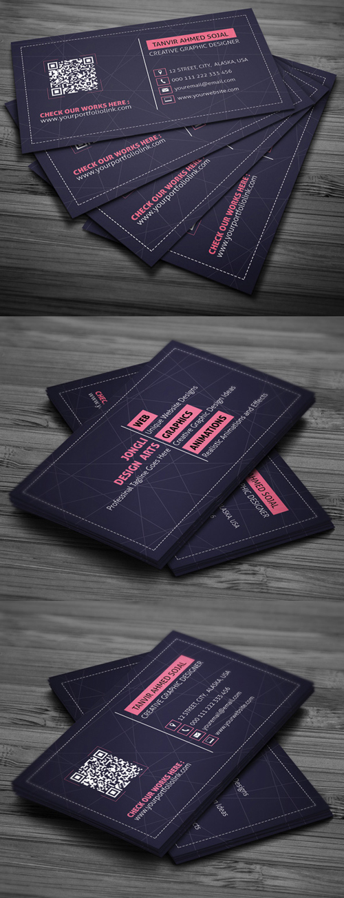 Designers Business Card Template
