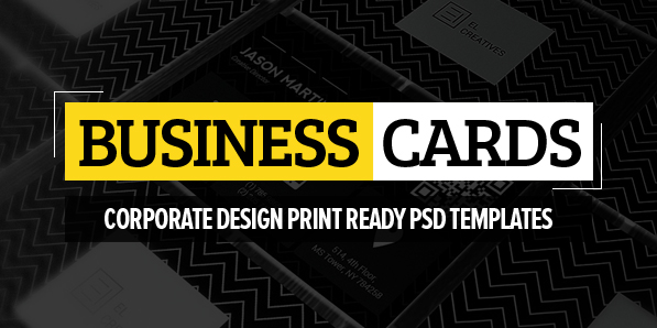 20 Corporate Creative Business Card PSD Templates