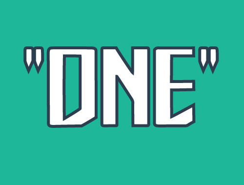 One Free Font