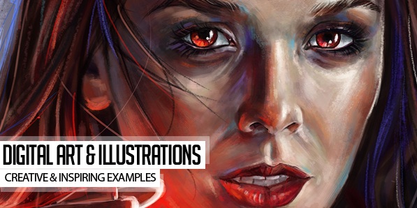 30 Creative Digital Art and Illustration Examples for Inspiration