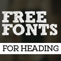 Post Thumbnail of 12 New Free Fonts for Designers