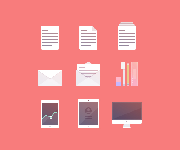 How to Create a Set of Productivity Icons in Adobe Illustrator