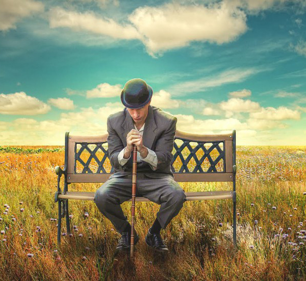 Create a beautiful surreal scene with a vintage look in Photoshop