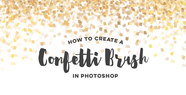 How To Create a Confetti Brush in Adobe Photoshop