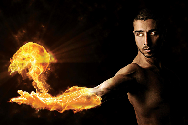 Create scorching Photoshop effects in Photoshop Tutorial