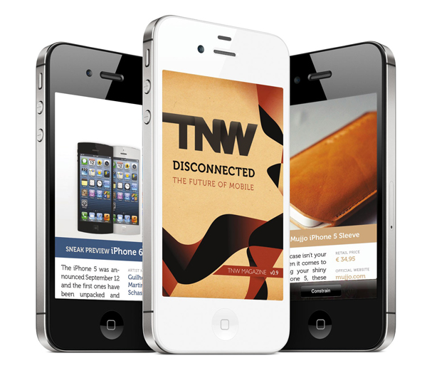 Design a beautiful mobile magazine for the iPhone in Indesign