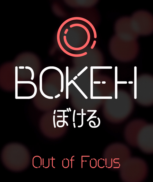 Bokeh rounded free font