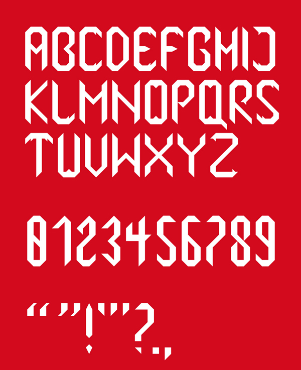 Vampyri fonts and letters