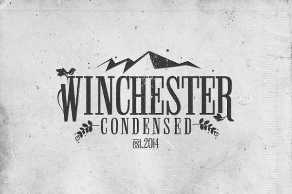 Winchester Font best for logos and insignia