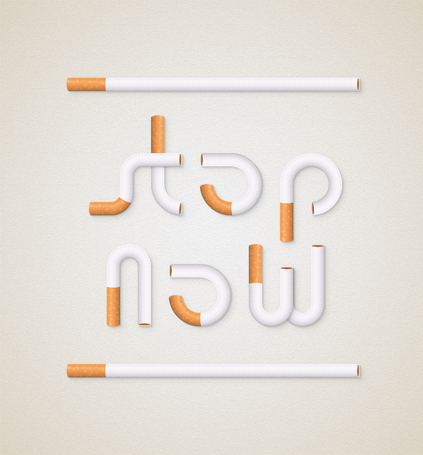 How to Create a Cigarette Text Effect in Adobe Illustrator