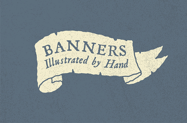 Hand Illustrated Banners