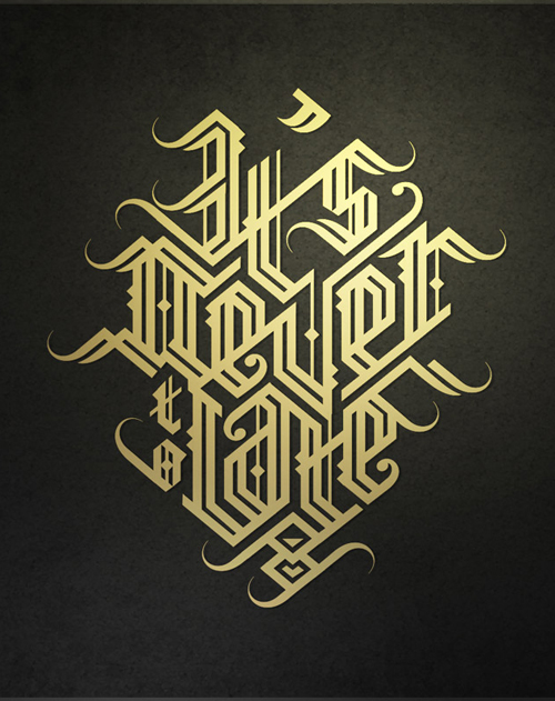Remarkable Lettering and Typography Designs for Inspiration - 21
