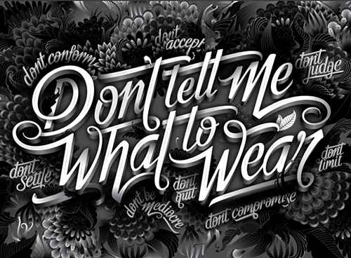 Remarkable Lettering and Typography Designs for Inspiration - 5