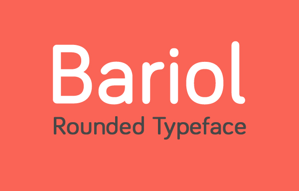 Bariol rounded free font