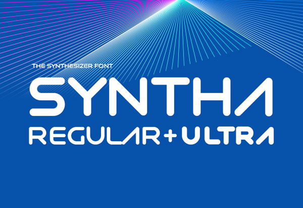 Syntha rounded free font