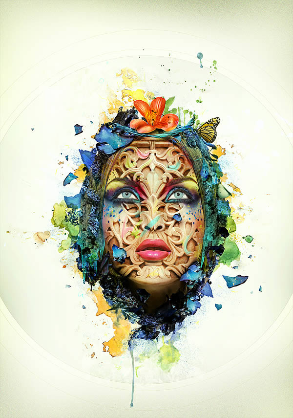 Create a Beautiful Abstract Portrait in Photoshop