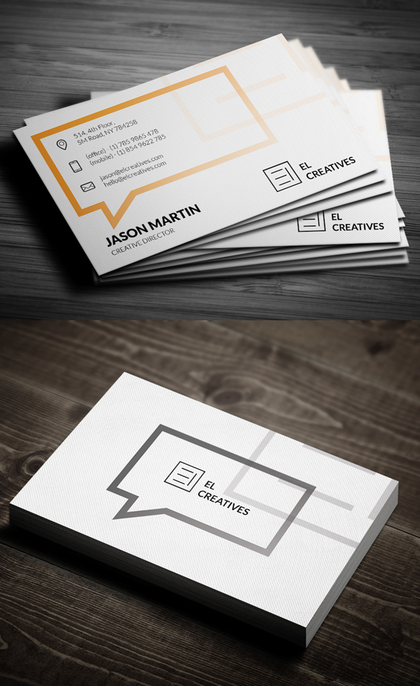 Business Cards Design: 50+ Amazing Examples to Inspire You - 35