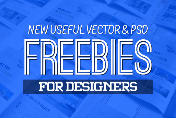 Freebies: 25 New Useful Free Vector and PSD Files