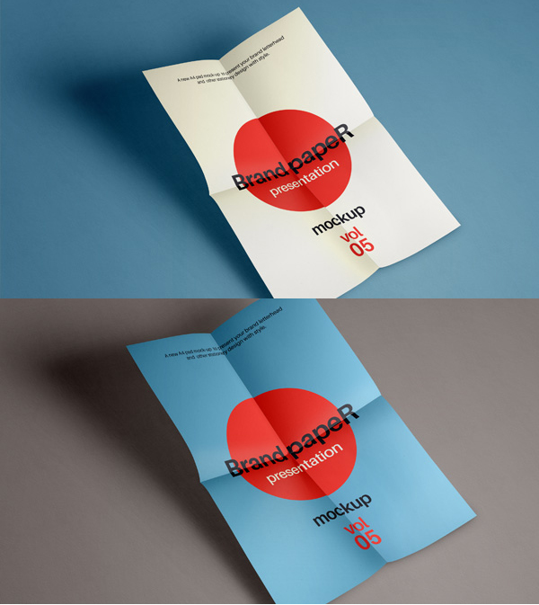 Free Psd A4 Paper Mock-Up