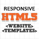 Post thumbnail of 15 New Responsive HTML5 CSS3 Website Templates