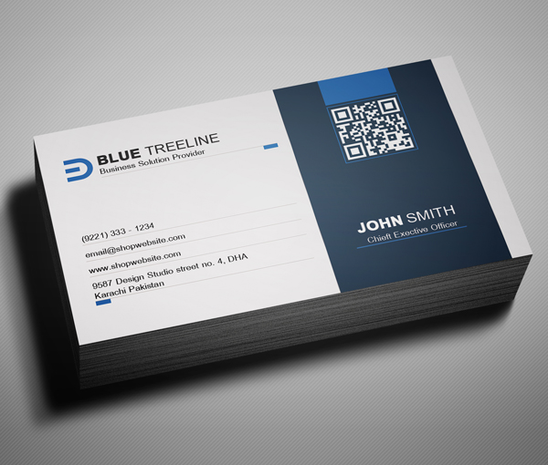 Modern Corporate Business Card Preview - 3