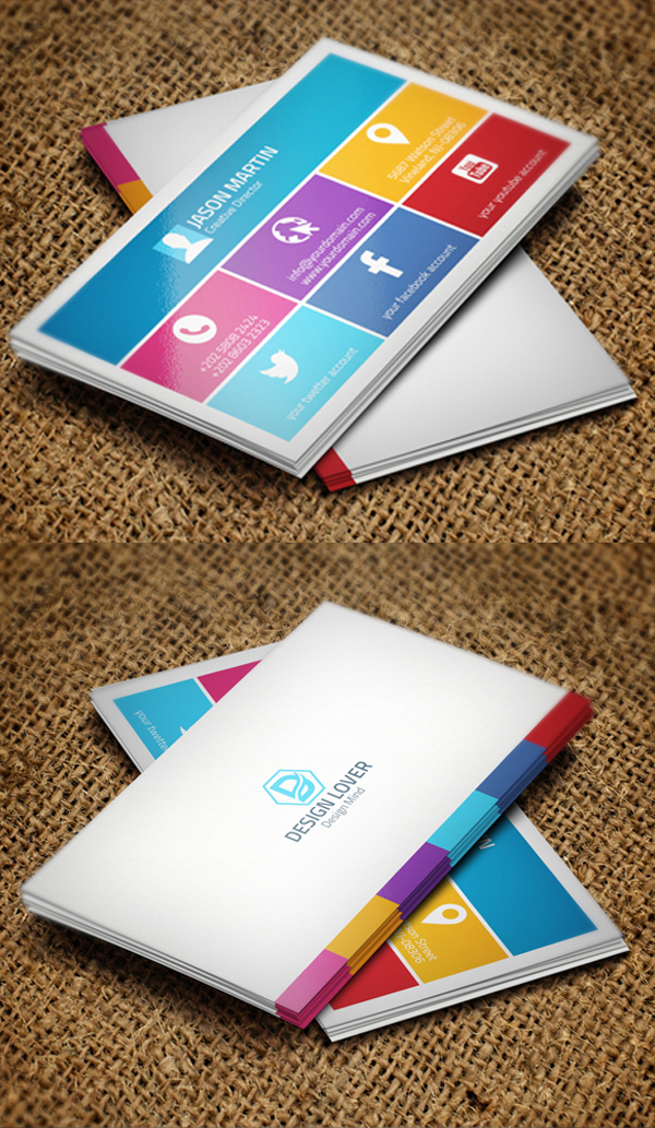 Business Cards Design: 25 Creative Examples - 25