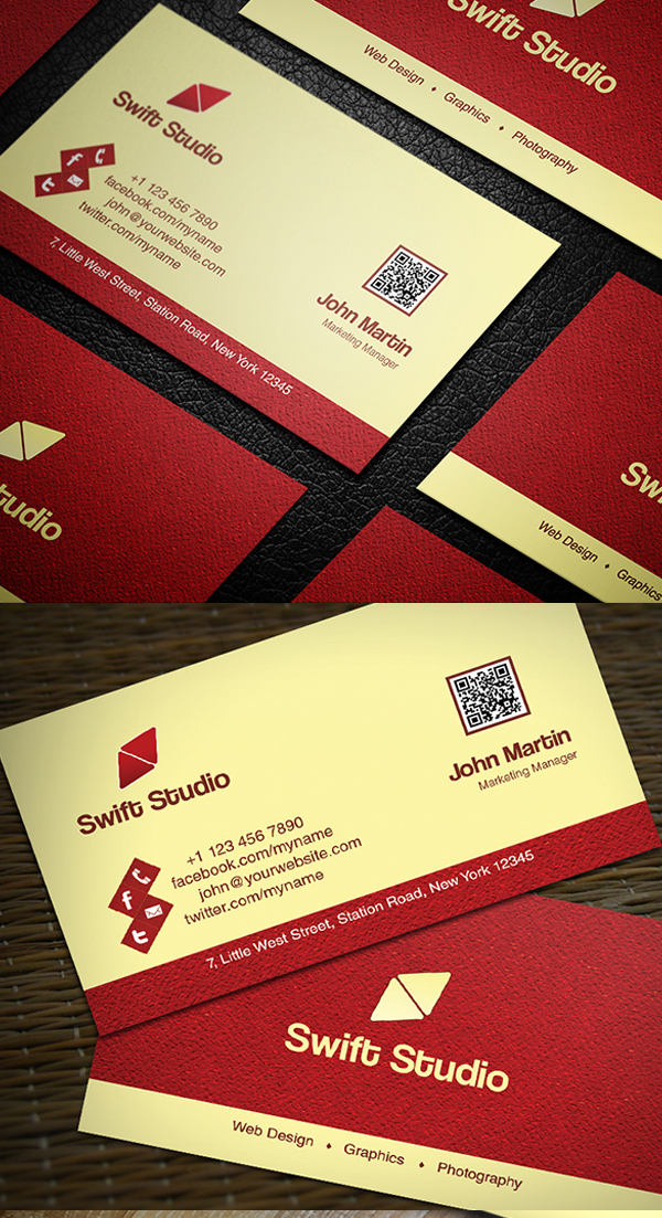 Business Cards Design: 25 Creative Examples - 9