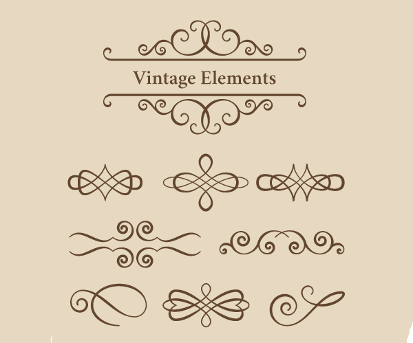 How to Create Vintage Ornament Set with VectorScribe in Adobe Illustrator