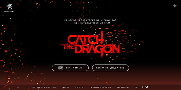 Peugeot Catch the Dragon