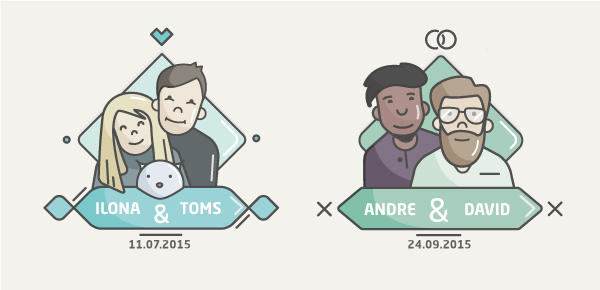 How to Create a Flat Design Wedding Icon in Adobe Illustrator