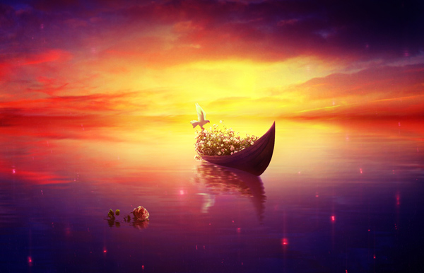 Create a Relaxing, Vibrant, Fantasy Lake Scene With Adobe Photoshop